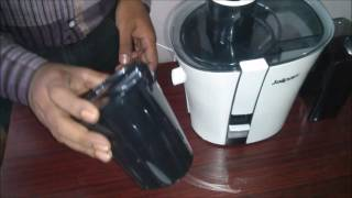 This video is the e-demo of the Jaipan Juicy Juicer from start to end, with all questions answered. With Jaipan juicer it's really easy to juice at home. It has really powerful motor and a durable body for best performance. So go ahead to know better about the product, features and how does it work.Check out this video for more detailed look into the working of your daily appliance - Juicer.For any issues or queries, please call us at: 011-6648 9200 or email us anytime: support@greendust.com