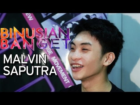 BINUSIAN BANGET – Malvin Saputra – Marketing Communication Student