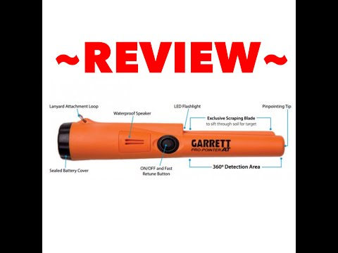 Garrett Pro Pointer AT Review & Compare with Original Propointer Pinpointer Waterproof
