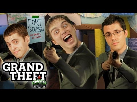 theft - Subscribe to Smosh Games! http://smo.sh/SubscribeSmoshGames It would appear that we have attracted too much unwanted attention. Between the cops and other pl...