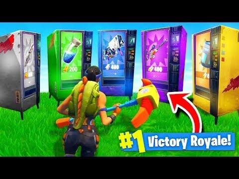 vending machine fortnite