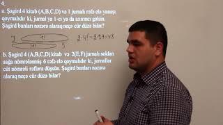 29. Kombinatorika məsələləri - Elçin Tanrıverdiyev