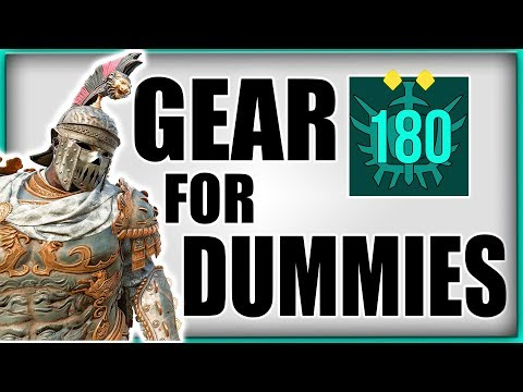 FOR HONOR | BEGINNERS GEAR GUIDE | EVERYTHING ABOUT GEAR IN DEPTH | DROPS, REFINED, BUILDS