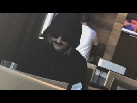 Best Friend Of 19-Year-Old Wears Mustache As She Watches Over Her First Date (видео)