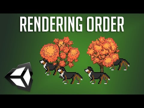 Control Sprite Rendering Order (Which 2D Objects Show in Front) | Unity 2018 Tutorial