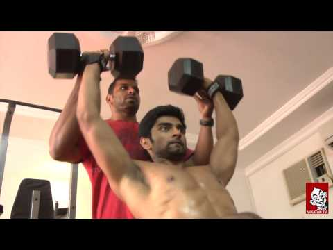 Video Atharvaa's Six Pack Workout - Ananda Vikatan download in MP3, 3GP, MP4, WEBM, AVI, FLV January 2017