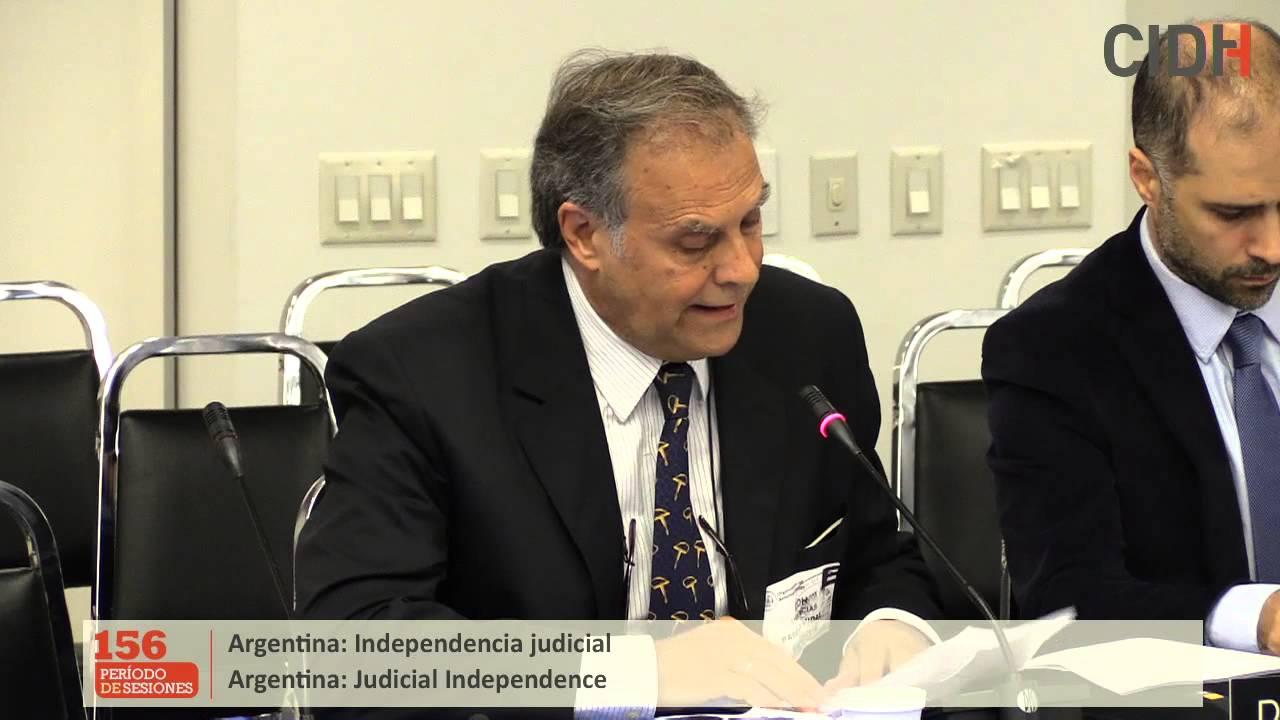 Situación de la independencia judicial en Argentina