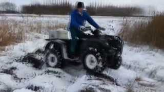 7. Suzuki Eiger 400 4x4 winter Test...