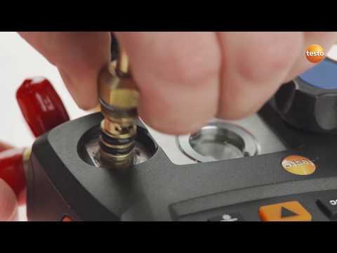 Ремкомплект запорных клапанов. Замена клапана
