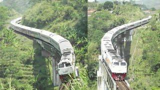 Video Serem Banget! Menikung Tajam di Tengah Jembatan Tarengtong & Sinapeul MP3, 3GP, MP4, WEBM, AVI, FLV November 2018