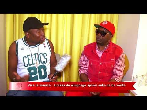 TÉLÉ 24 LIVE: Viva la musica – Luciana de Mingongo apanzi suka na ba vérité