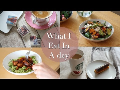 What I Eat in a Day (Gluten Free/Coeliac) - Working from home day