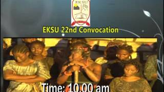 CONVOCATION ACTIVITIES