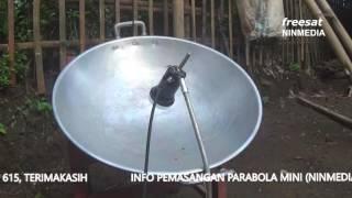 Parabola Menggunakan Wajan (NINMEDIA)