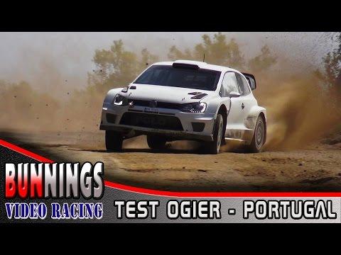 Vídeo test previos Sebastien Ogier WRC Rallye de Portugal 2015