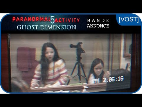 PARANORMAL ACTIVITY 5 GHOST DIMENSION - Bande-annonce [VOST]