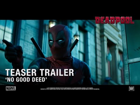 Deadpool 2 ['No Good Deed' Teaser Trailer In HD (1080p)]