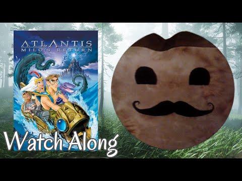 Atlantis: Milo's Return (2003) Movie Live Reaction! | First Time Watching! | Livestream!