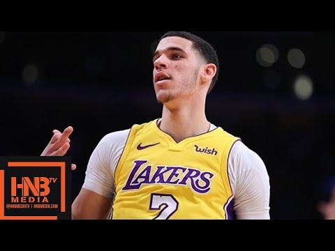Los Angeles Lakers vs Portland Trail Blazers Full Game Highlights / March 5 / 2017-18 NBA Season (видео)