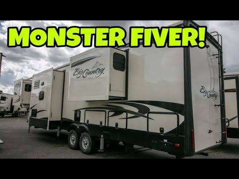 Big As A House! 43ft Long Luxury Fifth Wheel!  Big Country