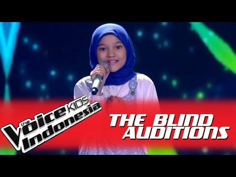 """Rachel """"The Show"""" I The Blind Auditions I The Voice Kids Indonesia GlobalTV 2016"""