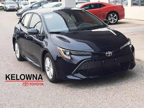 "New 2019 Toyota Corolla Hatchback SE I 16"" Alloy Wheels I Heated Seats"