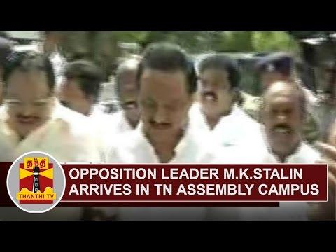 Opposition-Leader-M-K-Stalin-arrives-at-Tamil-Nadu-Assembly-Campus-Thanthi-TV