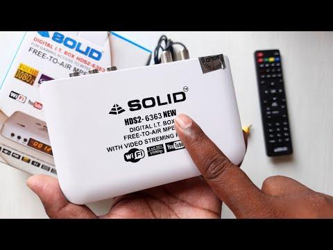 DD FREE DISH New Full HD MPEG-4 Set Top Box 2020 | सभी चैनल फ्री देखो बिना रिचार्ज | Solid 6363 New