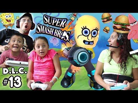 SPONGEBOB vs. KRABBY PATTY! Super Smash Bros DLC #3 FINALE (FGTEEV Dorky Little Characters) SSB #13