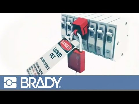 How to Use a Clamp On Breaker Lockout Device by Brady