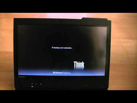 Lenovo X220 Tablet First Start and Overview