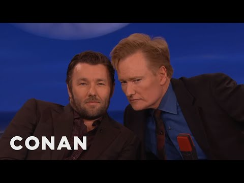 Joel Edgerton & Conan: Separated At Birth?  - CONAN on TBS (видео)