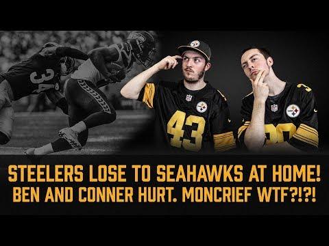 Steelers Lose 28-26 To Seahawks in Home Opener