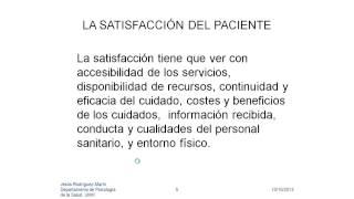 Umh4313 2012-13 Lección 008 Tema 6.1 Satisfacción Del Paciente (1)