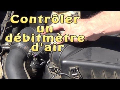 Contrôler / tester un débitmètre d'air sans démontage