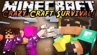 Minecraft Crazy Craft 2.0 : STEALING FROM THE KING!