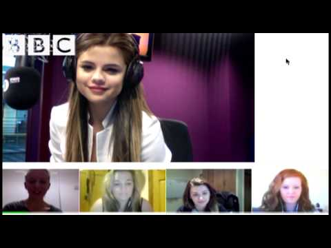 Selena Gomez - Selena Gomez chats to fans and discusses Nicky Minaj's bottom with Grimmy!