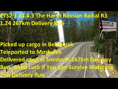 The Harsh Russian Baikal R3 1.24