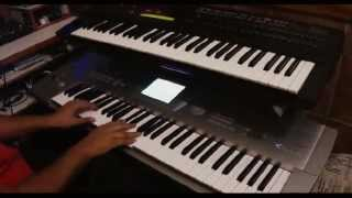 Whitney Houston's electric piano with KORG Trinity and Yamaha DX7 II-D