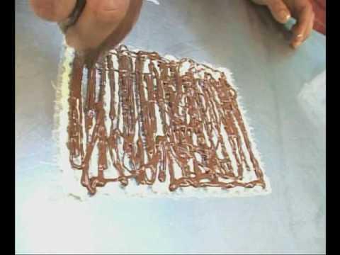 Dulce Hecho Arte - filigramas de chocolate