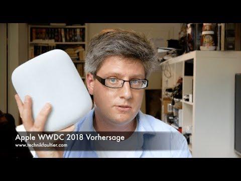 Apple WWDC 2018 Vorhersage