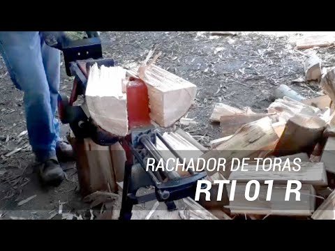Rachador de lenha elétrico RTI 01 V