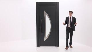 Porte aluminium EMALU - Hudson