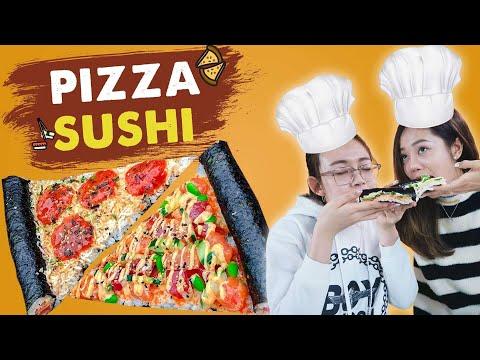 Vào Bếp Cùng Hải Yến : Pizza Sushi cực lạ đánh dấu sự trở lại ! - Thời lượng: 8 phút, 49 giây.