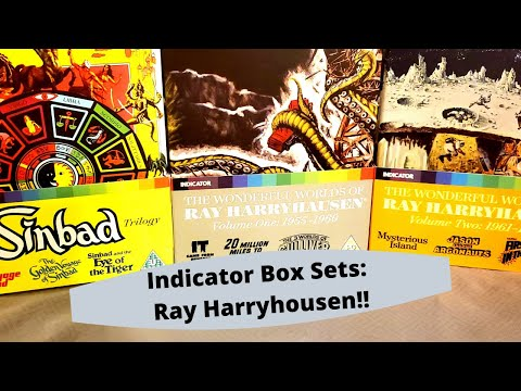 Indicator Box Sets: Ray Harryhausen, Powerhouse Films Blu ray collection