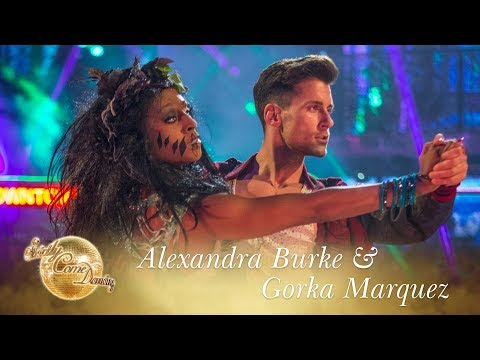 Alexandra & Gorka Tango to 'Maneater' by Nelly Furtado – Strictly Come Dancing 2017