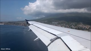 Ternate Indonesia  city pictures gallery : AirAsia A320 Scenic Landing At Ternate, Indonesia