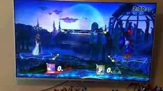 Yoshi Battlefield Jump in Sm4sh