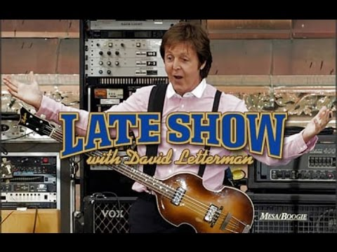 Video Paul McCartney on David Letterman Show Interview & Rooftop Performance download in MP3, 3GP, MP4, WEBM, AVI, FLV January 2017