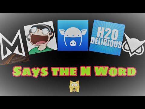 """Vanoss Crew"" Saying the N Word (Compilation)"